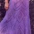 Ажурная юбка на спицах