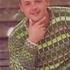 Пуловер с полосками